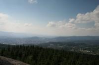 Výhled z Černé studnice