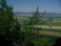 pohled od Kamenné brány