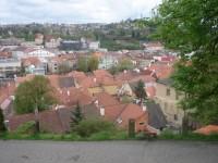 pohled na město