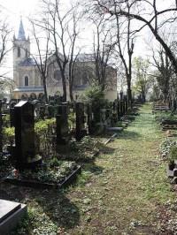 Praha, hřbitov Malvazinky