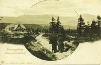 Černá bouda na Černé pasece a její historie