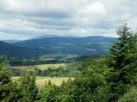 Janský vrch na hraničním hřebenu