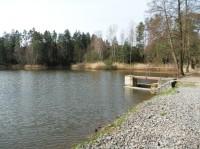 Rybník Špačková u Bělečka