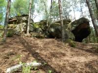 Slučí kameny v Lese Království