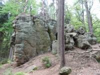 Karolinina vyhlídka v Lese Království