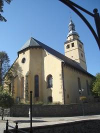 Kowary – farní kostel Nejsvětější Panny Marie