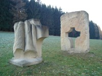 Krajina kříže (autor Čestmír Mudruňka)