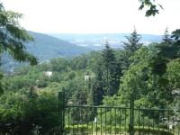 Výhled z Palackého vrchu západním směrem
