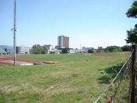 Sportovní areál VUT, v pozadí dominuje fakulta strojního inženýrství
