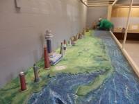 Připravované mořské pobřeží s majáky