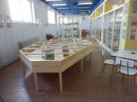 Pohled do muzea od pokladny