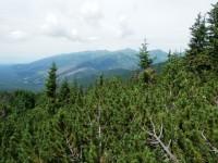 Z výstupu - pohled na Západní tatry