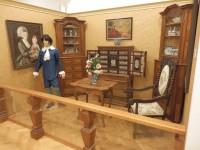Dioráma měšťanského pokoje