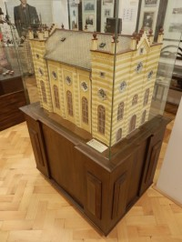 Model židovské synagogy