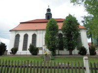 Siedlęcin - kostel Nejsvětější Panny Marie