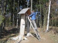 Slavonice - cesta pohádkovým lesem a NS čs. opevnění