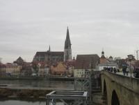 Regensburg - adventní procházka městem