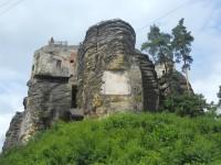 Sloup v Čechách - skalní hrad