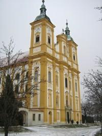 Dub nad Moravou - poutní kostel Očišťování Panny Marie