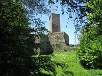 Zřícenina hradu Orlík s rozhlednou