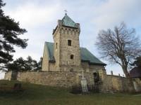 Vítochov – kostel a Munzarova borovice