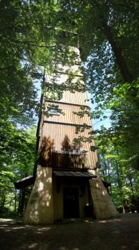 Kopec Ebene - rozhledna Böhmerwaldturm a muzeum