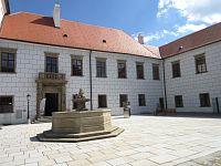 Třebíč – zámek, dříve benediktinský klášter, nyní muzeum