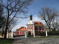 Škvorec – historie, Starý a Nový zámek