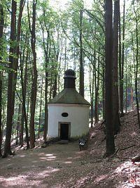 Broumovské stěny – 1. výlet: Křinice – Hvězda - Kovárna - Suchý Důl - Kamenné hřiby - Křinice