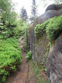 Broumovské stěny – 2. výlet: Hvězda – Strážná hora – Honský Špičák - Hvězda