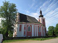 Božanov - kostel svaté Máří Magdaleny