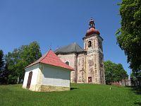 Heřmánkovice - kostel Všech svatých