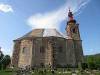 Vižňov - kostel sv. Anny a geopark