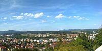 Nádherné výhledy na Trtnov a Krkonoše