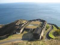 Karibik - Saint  Kitts - pevnost