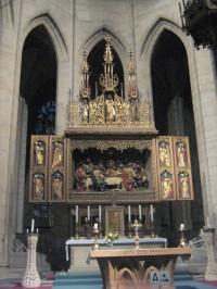 Chrám  sv. Barbory - hlavní oltář