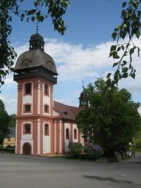 Valeč - farní kostel Narození svatého Jana Křtitele