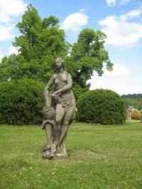 Valeč - zámecký park