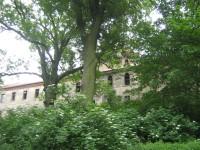 Zámek - ze zahrady
