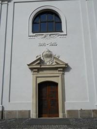 Kaple sv. Floriána -  detail vchodu