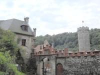 Vstup do hradu - zadní vchod