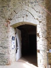 Vchod do jihozápadního paláce