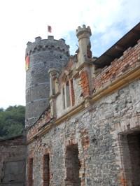Jihozápadní  palác s věží