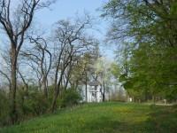 Týn nad Vltavou - rozhledna a soutok Vltavy s Lužnicí