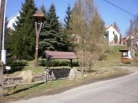 Náves Lbín -zvonička