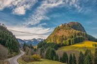 Oblast přírodního parku Reutte - nejdelší visutý most pro pěší na světě!