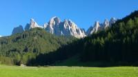 S Červeným kohoutem (Roter Hahn) přes Geisler Gruppe (Jižní Tyrolsko)