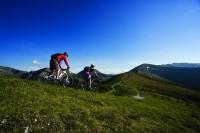 Horská cyklistika v Korutanech (Rakousko)