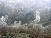 výhled na Sázavu z Třeštiboku
