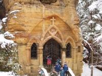 kaple v Modlivém dolu